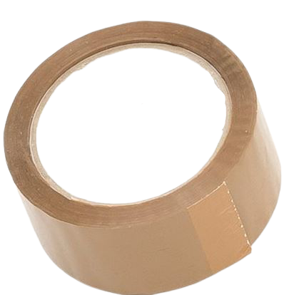 Brown Packing Tape Transparent