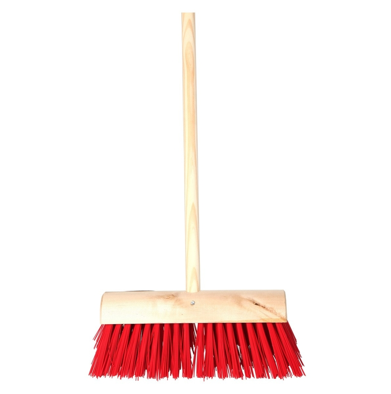 Yard Brush with Clamp - 14in
