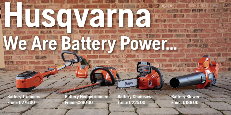 Husqvarna - We are battery Power