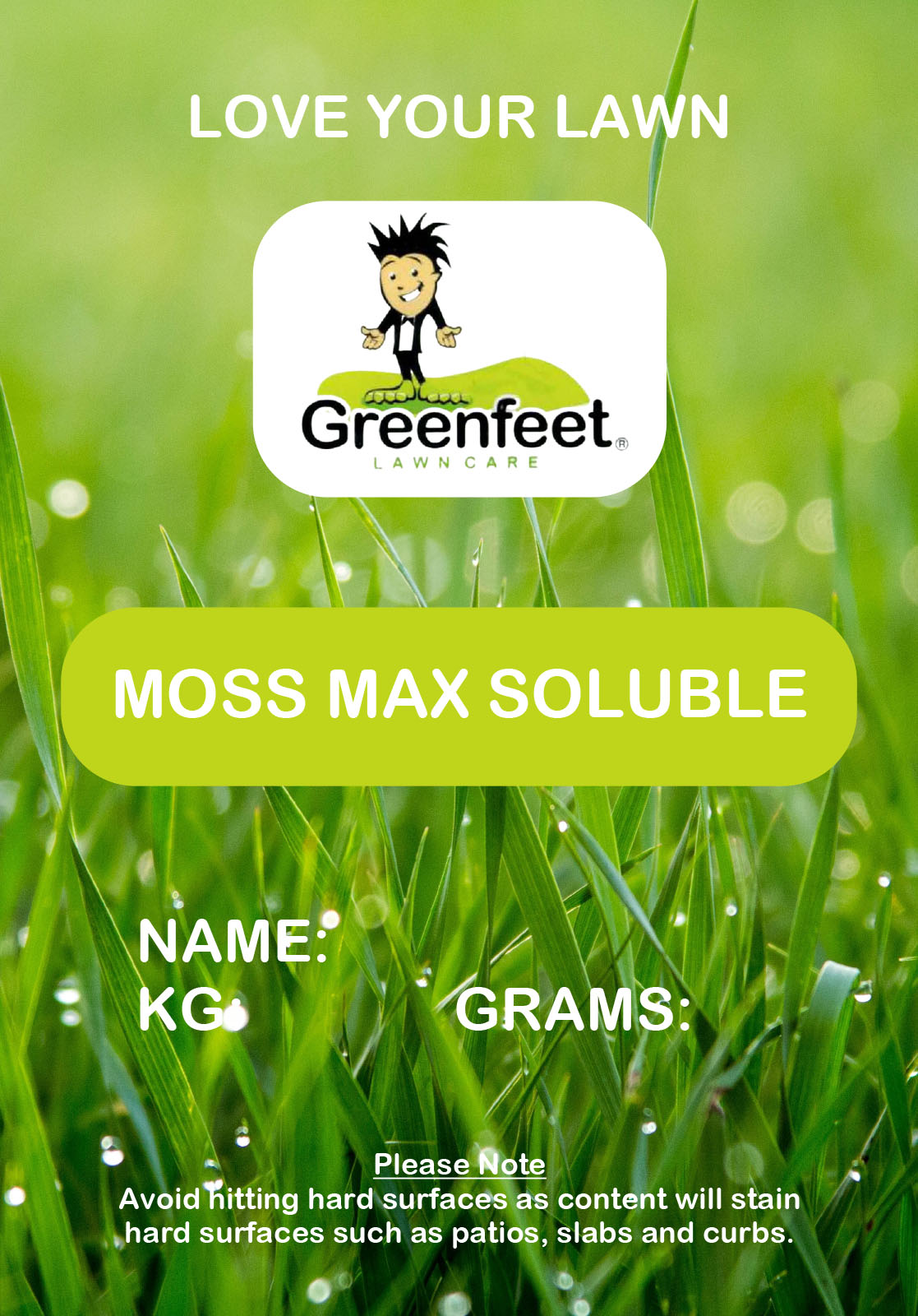 Moss Max Soluble 25kg Bag