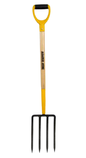 True Temper Digging Fork with Wood