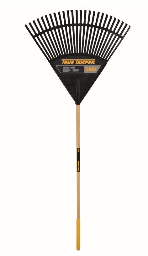 True Temper Poly Fan Lawn Rake