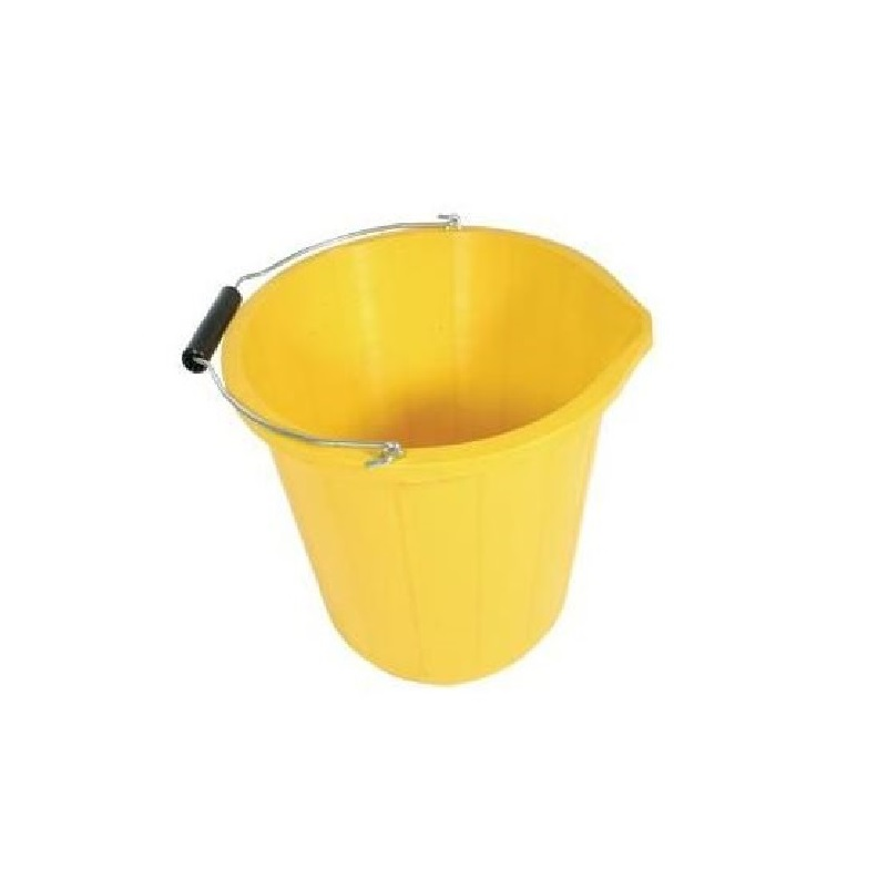 3 Gallon Yellow Bucket