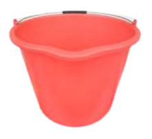 Red Heavy Duty Bucket 20 Litre