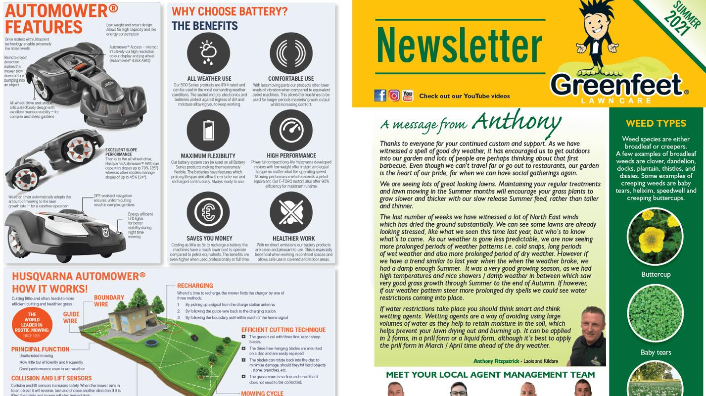 Greenfeet Newsletter 2021